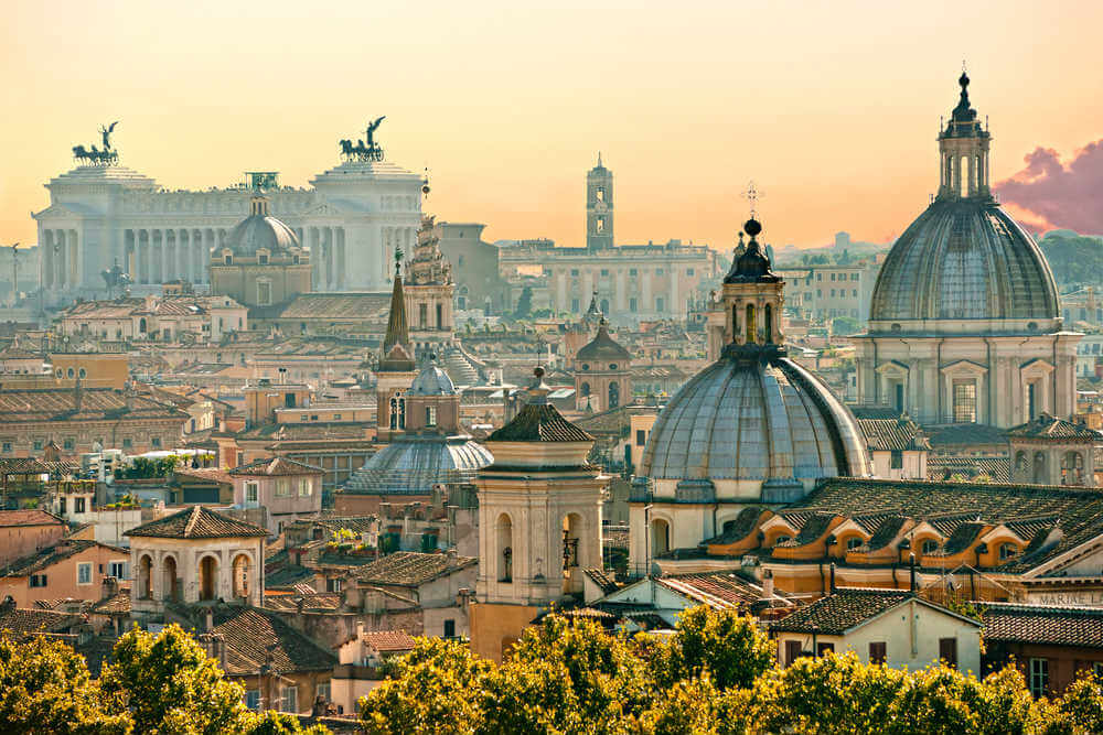 View of Rome - Travel Guide to Italy