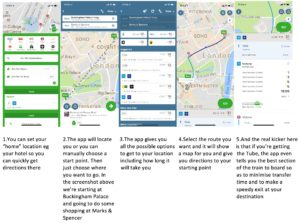 Citymapper best mobile app when travelling to London UK